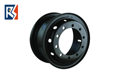 Industrial wheel rims for forklifts, port equipments and gorund support equipments